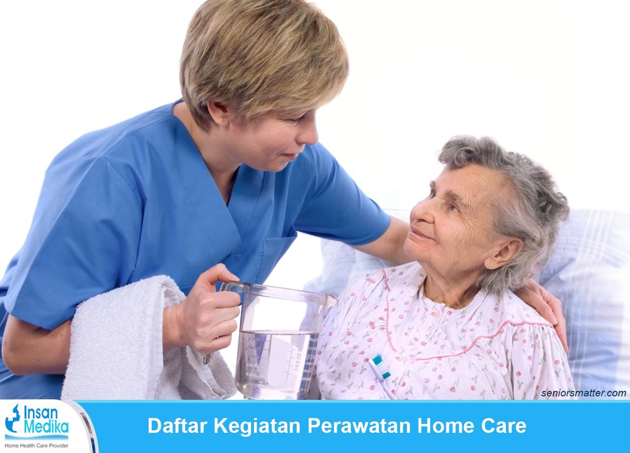 Kegiatan Perawat Home care