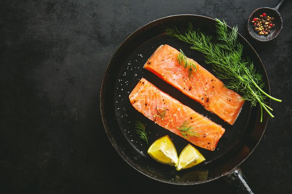 Olahan ikan salmon sangat bagus untuk penderita stroke