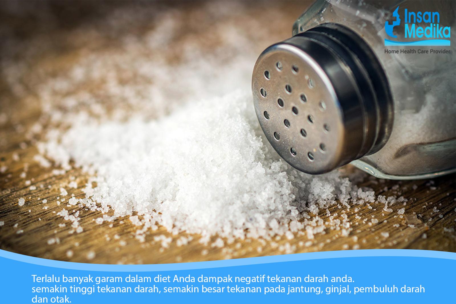 Garam adalah salah satu bahan makanan yang harus dihindari saat Imlek