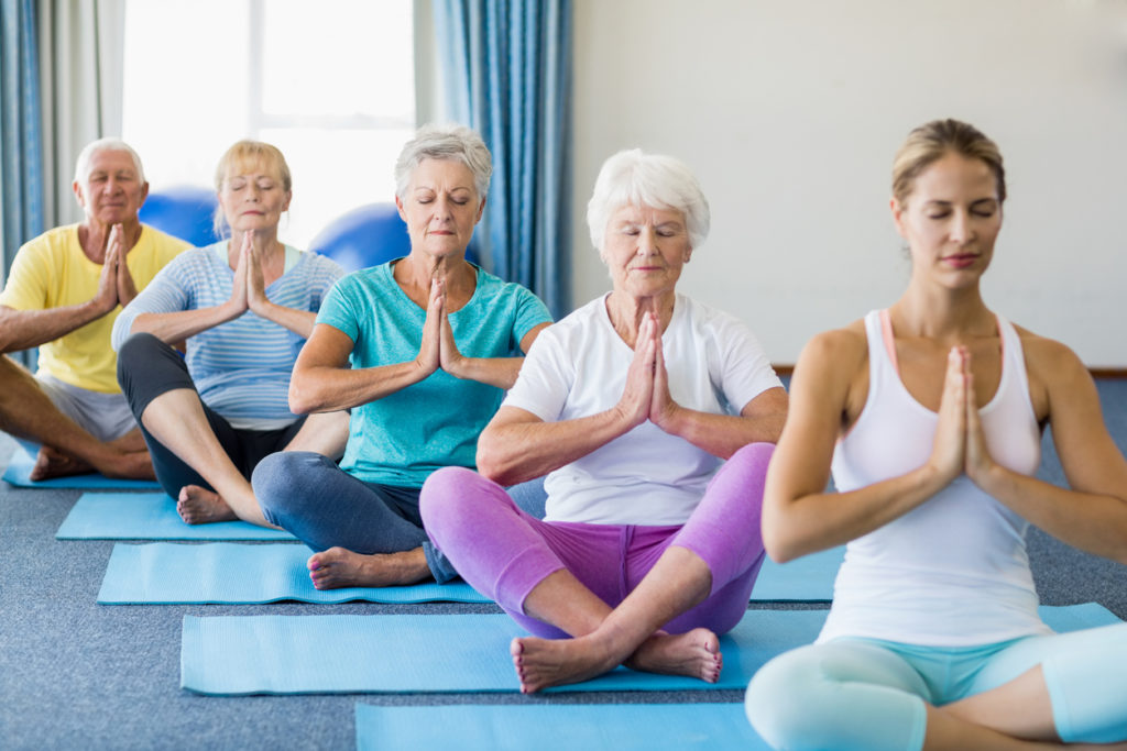olahraga Yoga untuk lansia