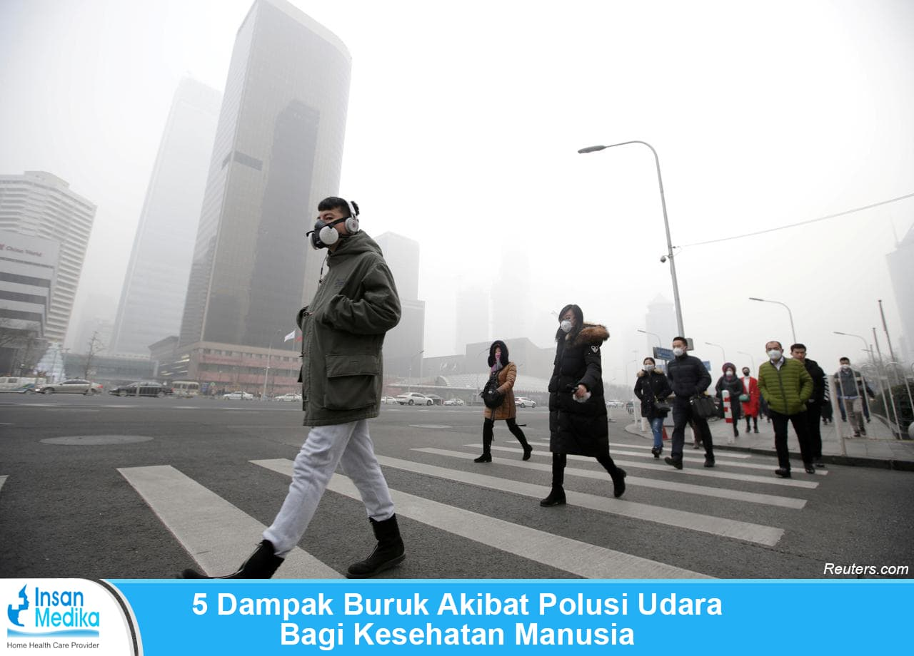 5 Dampak Buruk Akibat Polusi Udara Bagi Kesehatan Manusia