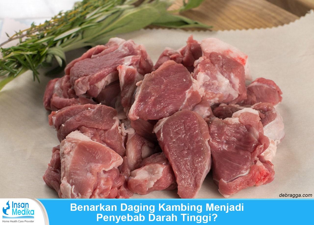 Apakah daging kambing penyebab darah tinggi