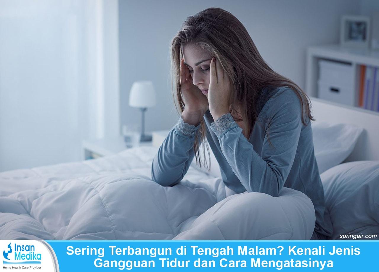 Cara tidur kembali setelah terbangun di malam