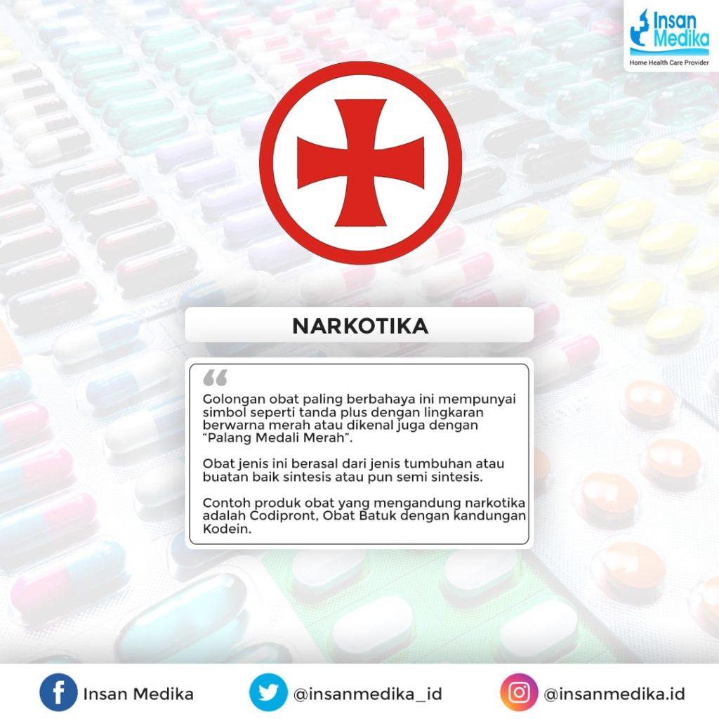 Simbol obat golongan narkotika