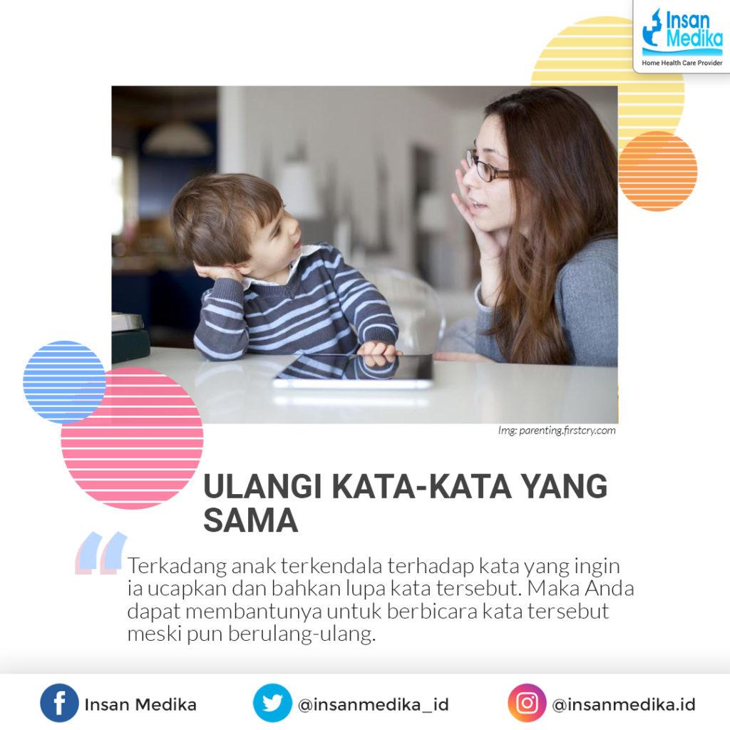 Cara melatih bicara anak sejak dini agar cepat bicara lancar