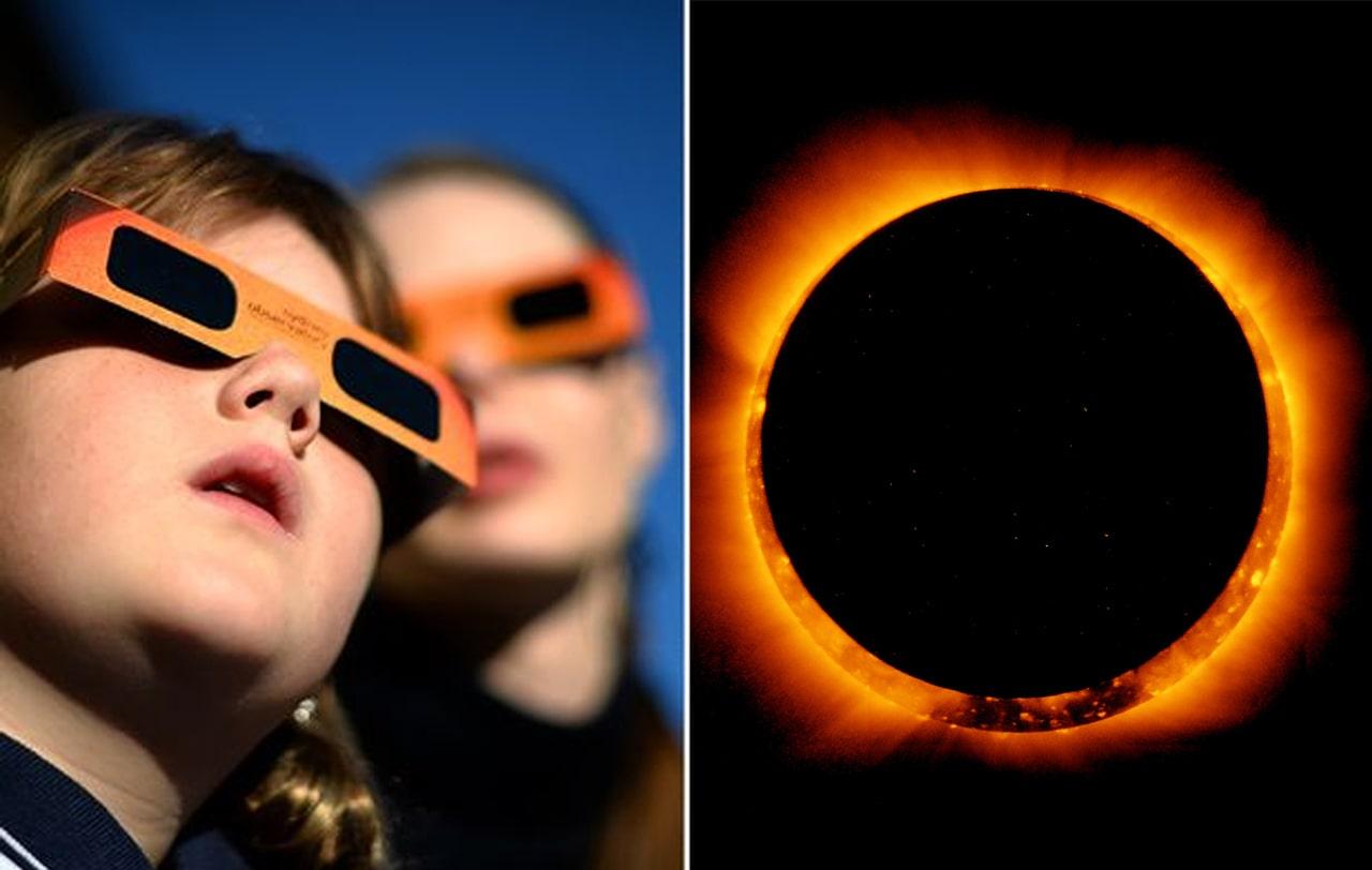 Dampak Berbahaya Bagi Mata Akibat Menatap Gerhana Matahari Cincin