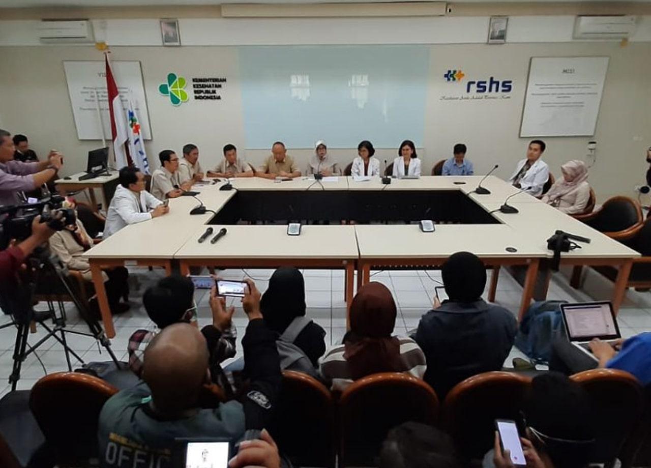 Pengumuma Resmi RSHS Bandung mengenai pasien yang diduga terinfeksi virus corona