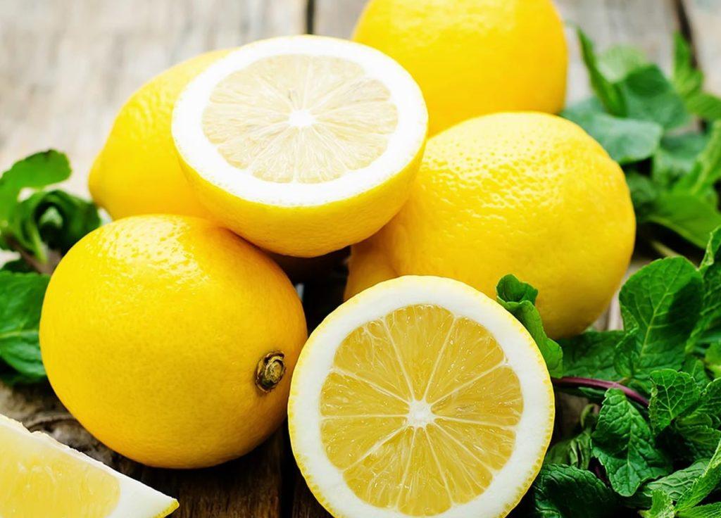 Buah lemon untuk membantu mempercepat penyembuhan luka pada kulit
