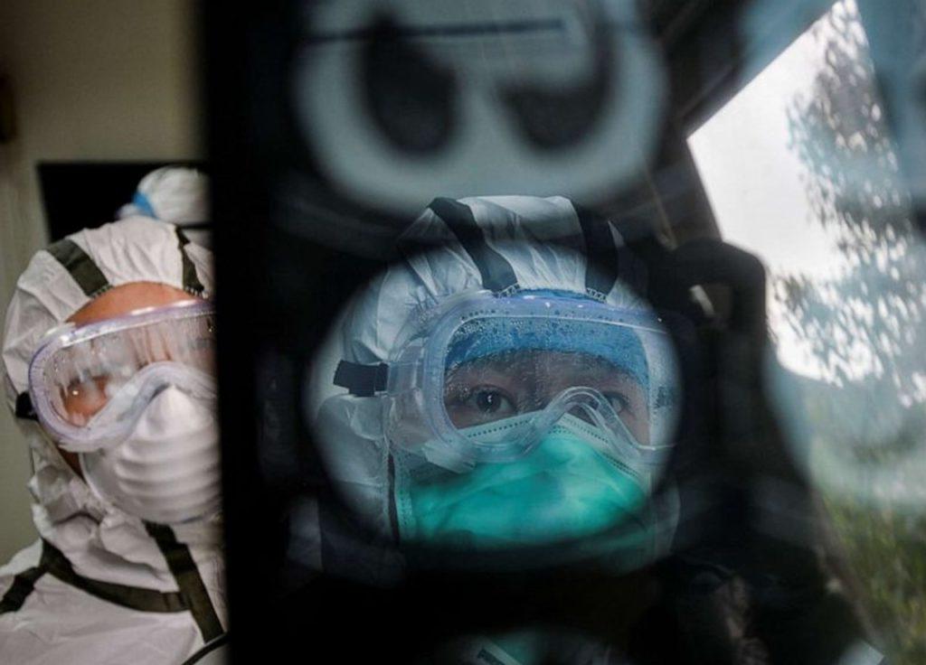 Jumlah pasien sembuh dari virus corona
