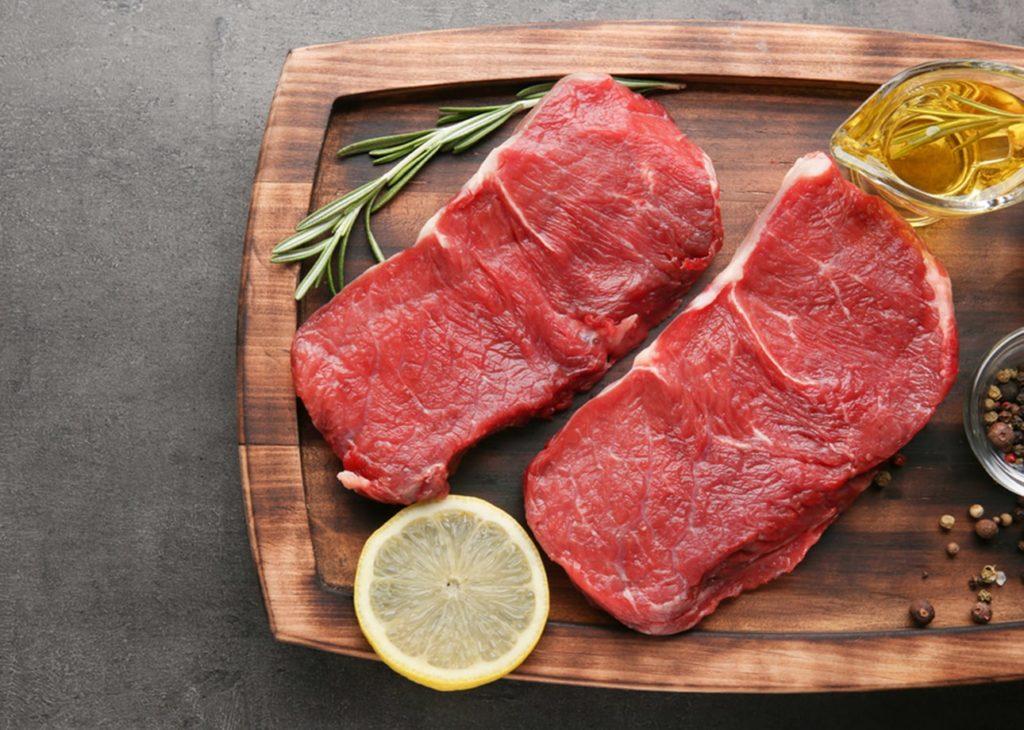 Daging merah dengan kandungan zinc baik untuk daya tahan tubuh