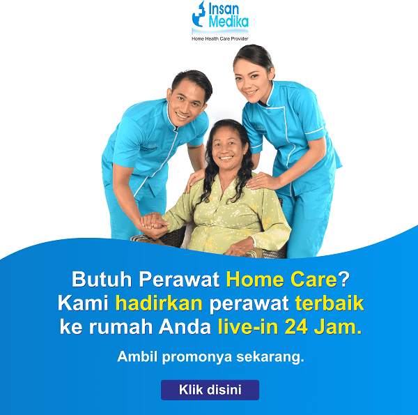 Banner popup design promo home care Insan medika